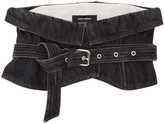 Isabel Marant Black Denim Erika Belt