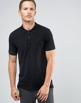 Celio Straight Fit Polo With Chest Crest