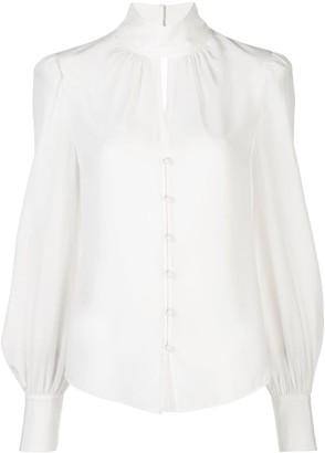 Cinq à Sept Ellie high-neck blouse