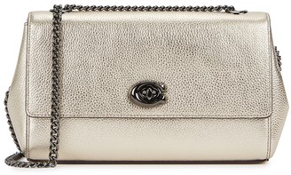 Coach Gold Leather Cross-body Bag