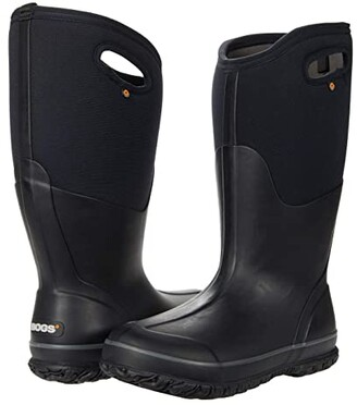 Bogs Classic Tall Wide Calf (Black) Women's Boots