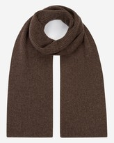N.Peal Chunky Ribbed Cashmere Scarf