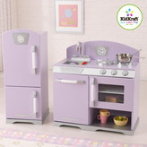 Kid Kraft 2 Piece Retro Personalized Kitchen and Refrigerator Set