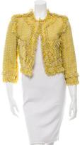 Lanvin Fringe-Trimmed Tweed Jacket