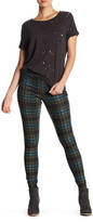 Hue Holiday Plaid Denim Legging