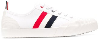Thom Browne Striped Trimmed Sneakers