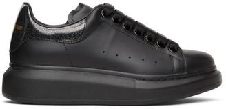 Alexander McQueen SSENSE Exclusive Black Tab Oversized Sneakers