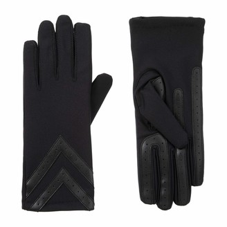 Isotoner Womens Spandex Touchscreen Cold Weather Gloves