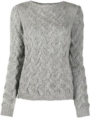 Liska Cable-Knit Cashmere Jumper