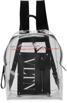 Valentino Transparent Garavani Pouch Backpack