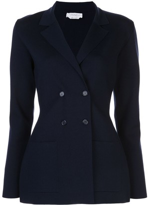 Gabriela Hearst Fitted Double Breasted Blazer