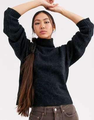 Asos super soft alpaca wool roll neck-Multi