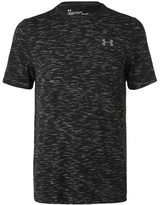 Under Armour Threadborne Seamless Mélange Training T-shirt - Black