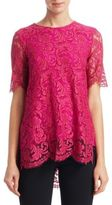 ADAM by Adam Lippes Floral Lace Blouse
