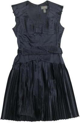 Zac Posen Navy Silk Dresses