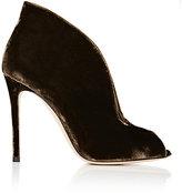 "Gianvito Rossi Women's ""Vamp"" Ankle Booties-GREEN"
