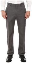 Perry Ellis Portfolio Travel Luxe Modern Fit Windowpane Plaid Pants