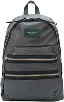 Marc Jacobs zipped backpack - women - Leather/Nylon - One Size