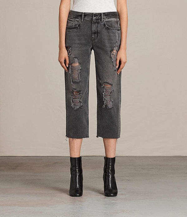 AllSaints Ivy Destroys Boys Jeans