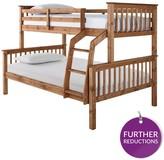 Novara Trio Bunk Bed With Optional Mattress