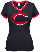 5th & Ocean Women's Cincinnati Reds Triple Flock T-Shirt