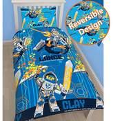 Lego Nexo Knights Power Single/US Twin Duvet Cover Set - Rotary Design