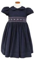 Sorbet Girl's Embroidered Smocked Waist Dress