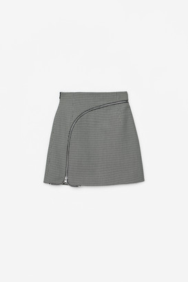 Collection Curved Zipper Skirt