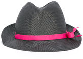 Emporio Armani contrast hat - women - Polyester/Cellulose - 57