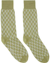 Marni Green Jacquard Socks