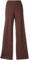 Labo Art striped flared pants