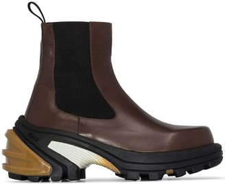 Alyx detachable sole Chelsea boots