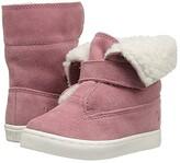 Polo Ralph Lauren Siena Bootie (Toddler/Little Kid) (Pink Suede) Kid's Shoes