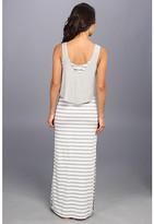 7 For All Mankind Seven7 Jeans Twofer Tank Stripe Dress