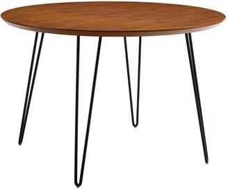 Hewson 46In Round Hairpin Leg Dining Table