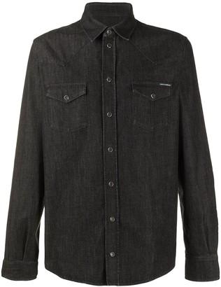 Dolce & Gabbana Snap Button Denim Shirt