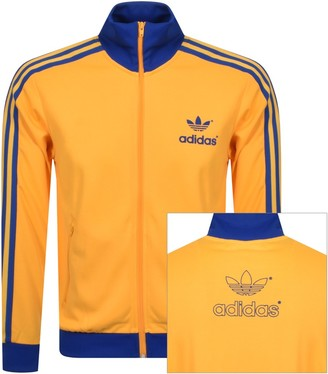 adidas 70s Track Top Yellow