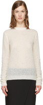 Acne Studios Off-white Trixie Sweater