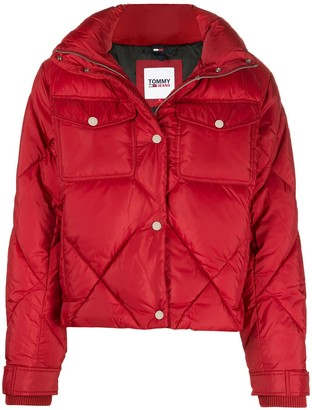 Tommy Jeans Diamond Quilted Jacket