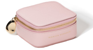 Monica Vinader Personalised Leather Trinket Box