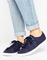 Le Coq Sportif Navy Canvas Setone Sneakers