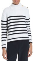Kate Spade Women's Stripe Alpaca Blend Pullover