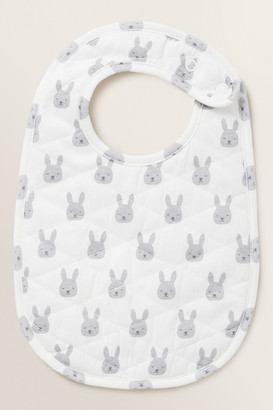 Seed Heritage Bunny Quilted Bib