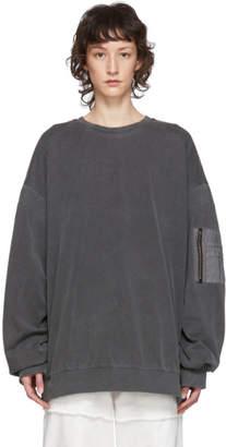 Juun.J Black MA1 Pocket T-Shirt