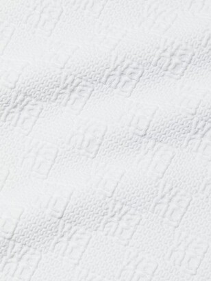 alexanderwang.t Logo Jacquard Mini Dress