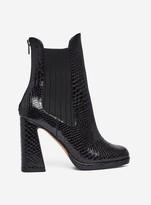 Dorothy Perkins Womens Lola Skye Black 'Looper' Platform Boots, Black