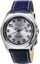 Perry Ellis Memphis Navy Leather Watch