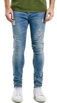 Topman Men's Ripped Stretch Skinny Fit Jeans