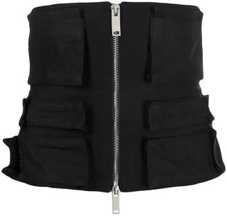 Unravel Project Zip Pockets Corset