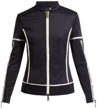 Moncler Jersey Stretch Track Top - Womens - Navy